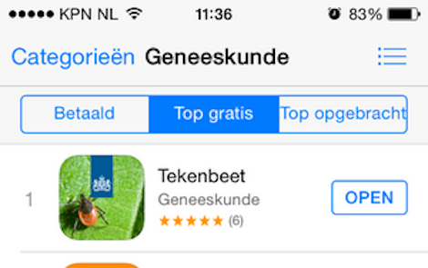 DTT: Apps met goede reviews
