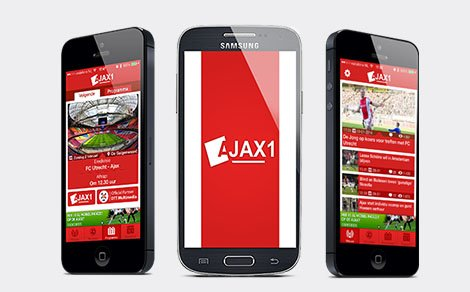 The Ajax1 app on iPhone and Android!