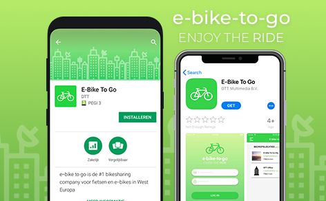 Now live: E-bike to go bike sharing app