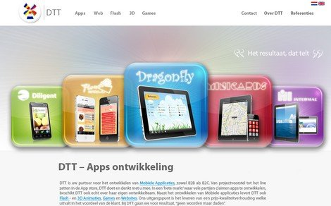 DTT launches new website - DTT blog