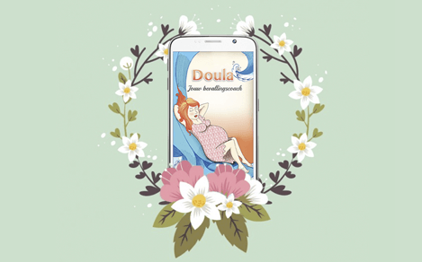 Virtual flowers for Doula developers