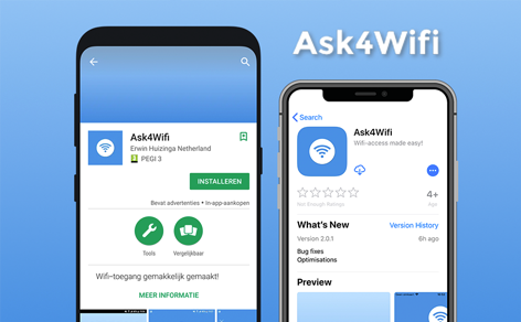Now live: Ask4Wifi app