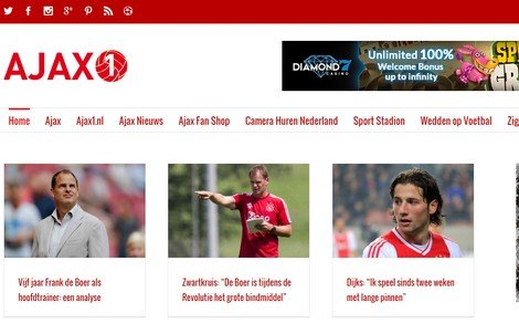 Oficial partner of Ajax1 - DTT blog