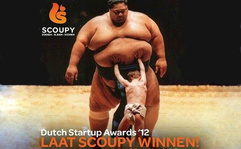 Scoupy nominated for 'BEST MOBILE APP'!