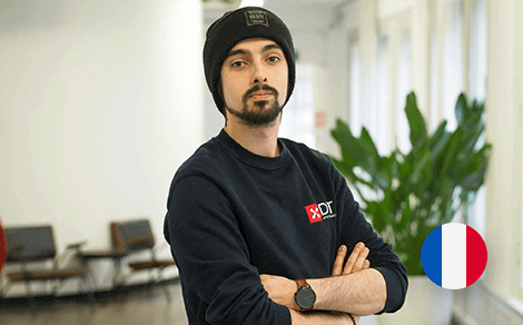 Pierre Gallusci | Unity app development internship - Stagiaires over DTT
