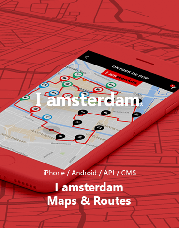 I amsterdam Maps & Routes app