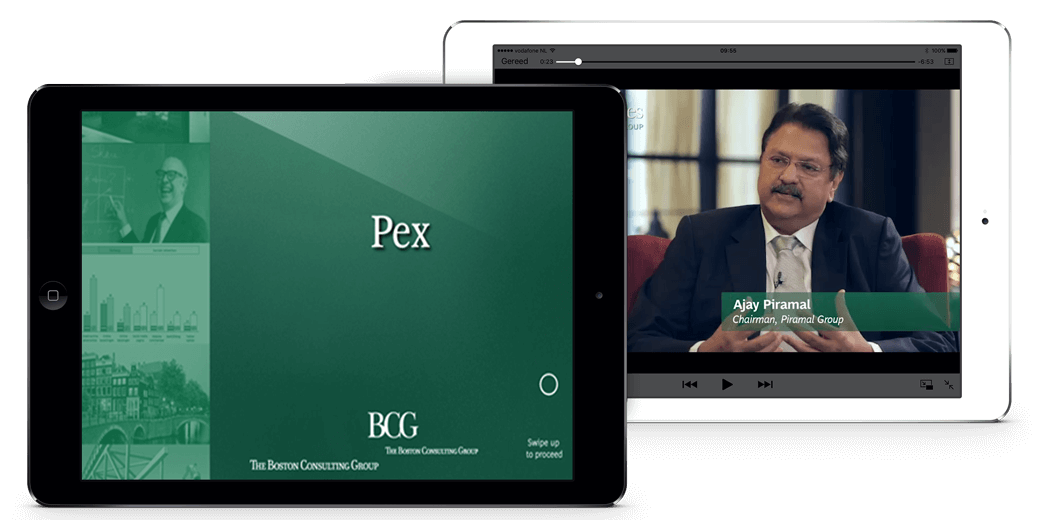 Boston Consulting Group app overzicht