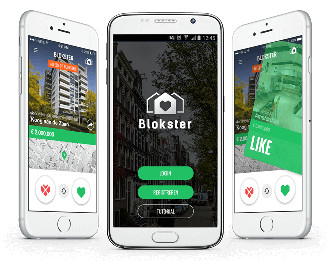 Blokster app overview