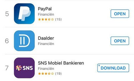 Payment app Daalder success in app stores  - DTT blog