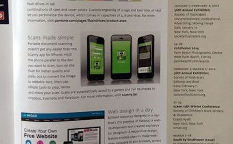 DTT app in Communication Arts magazine - DTT blog